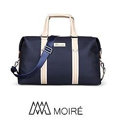 Moiré Ibiza Weekend Bag Oxford Mens Travel Duffel Messenger Luggage Bag