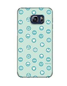 Pick Pattern Back Cover for Samsung Galaxy S6 Edge Plus SM-G928T