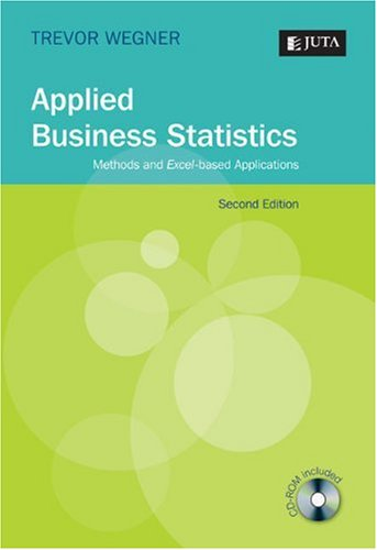 applied business statisitics Business statistics final exam solutions december 17, 2008 1 for questions 1-3, indicate the type of data described 1 (1 pt) in a web-based survey, customers are asked to rate your company's product.