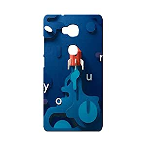 BLUEDIO Designer Printed Back case cover for Huawei Honor X - G2262