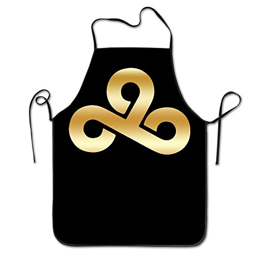 [Cloud9 C9 Gold Logo Kitchen Baking Apron] (Toddler Gardener Costume)