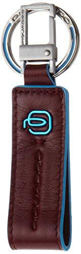 Piquadro PC3756B2/R Blue Square Portachiavi, Rosso