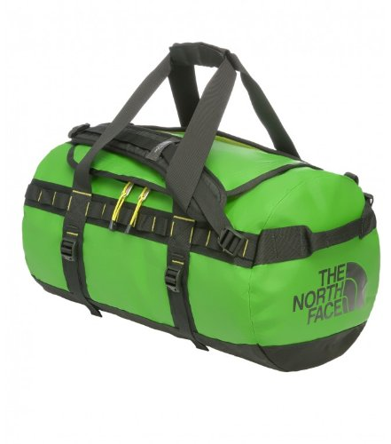 THE NORTH FACE Sporttasche Base Camp - L, Flashlight Green/Tnf Black, 65 x 40 x 40 cm, T0ASTED5Y