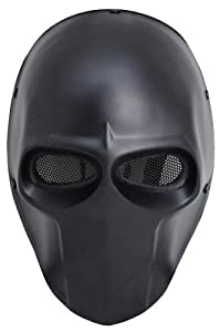 FMA New Blcak Wire Mesh Full Face Protection Paintball Skull Mask Cosplay Halloween L636