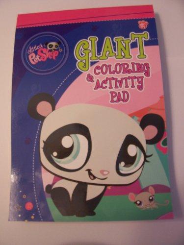 Littlest Pet Shop Giant Coloring & Activity Pad ~ Panda & Mouse Cover (224 Pages)