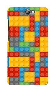 KnapCase Lego Designer 3D Printed Case Cover For HTC One A9