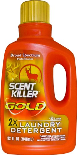 Buy Wildlife Research 1249 Gold Clothing Wash Scent Killer 32 OZ