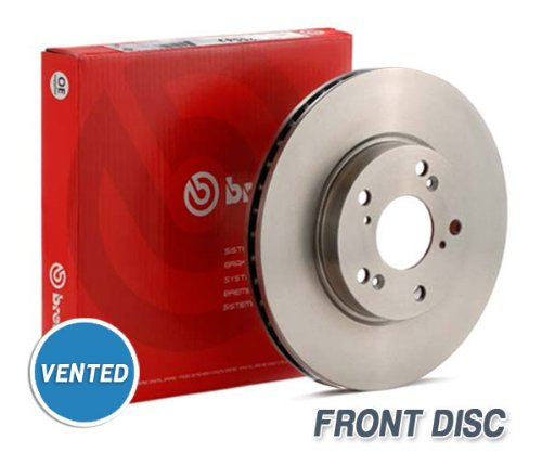 Front Brembo Brake Discs - FORD Focus 2.0i 16V ST 170 98 to 10.04