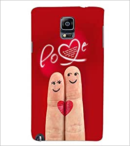 PrintDhaba Love D-2291 Back Case Cover for SAMSUNG GALAXY NOTE 3 (Multi-Coloured)