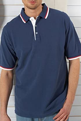 Blue Harbour °Climate Control Short Sleeve Polo Shirt [T28-5568B-S]