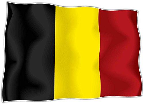 Autocollant sticker drapeau belgique belge moto voiture - Stickers cuisine belgique ...