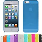 DSB? Premium Matte Surface PP Ultra Thin 0.01 inch/0.3 mm Soft Case for iPhone 5/5S