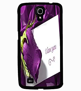 ColourCraft Love Quote with Flower Design Back Case Cover for SAMSUNG GALAXY MEGA 6.3 I9200