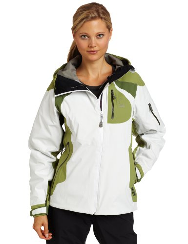 Sierra Designs Women's Solar Fusion Jacket, Agate/Gator/Herb, X-Large