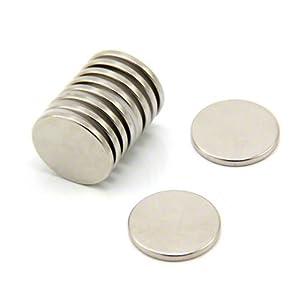 20mm Dia X 2mm Dicken N35-Neodym-Magnet - 2,3 Kg Ziehen (Packung Mit 3000)