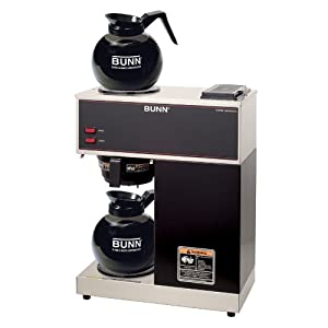 BUNN 33200.0015 VPR-2GD 12-Cup Pourover Commercial Coffee Brewer with Upper and Lower... by Bunn
