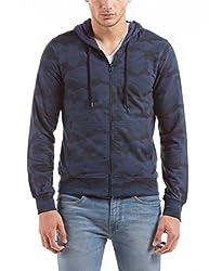 Shuffle Men's Cotton Sweatshirt (8907423024052_2021517202_Medium_Navy)