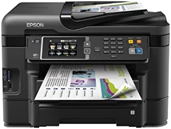 Epson Workforce WF-3640DTWF Inkjet All-In-One Color Printer