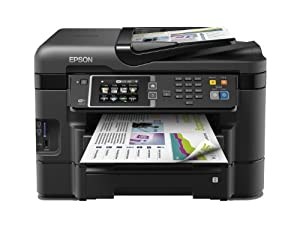 Epson WorkForce WF-3640DTWF A4 4-in-1 Business Printer - (Fast Duplex Printing, Wi-Fi, Mobile Printing and Dual 250-sheet Trays)