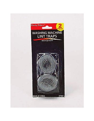96 Packs Of Washing Machine Lint Traps (Set Of 2)