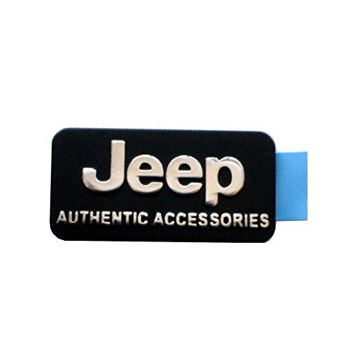 "【JEEP直輸入純正】 ""Jeep AUTHENTIC ACCESSORIES"" エンブレム(バッジ) 【ラングラー、グランドチェロキー、  コンパス、コマンダー等】"