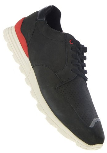 Clae Mens Nathan Black Nubuck 12 Boots Sneakers CLA01283