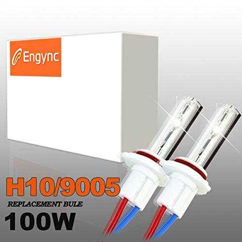 Engync 100W Super Bright 9005 (HB3) Xenon HID lampadine di ricambio | Hi / Low 8000K