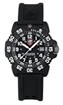 Luminox EVO Colormark Black Dial Black Rubber Ladies Watch 7051