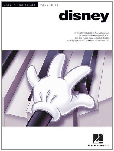 Disney: Jazz Piano Solos Series Volume 16