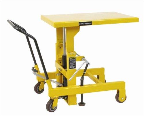 Hydraulic 36 Dog Lift : Wesco hydraulic die lift table lb in