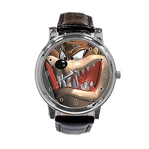 Taz Fashion Design Wrist Watch Leather Band Men's Women's Sport Watch hot sale bySANTRE CUSTOM