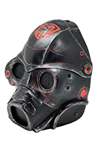 FMA New Wire Mesh Black Red Spectre 1.0 Full Face Protection Paintball Mask L558 by FMA