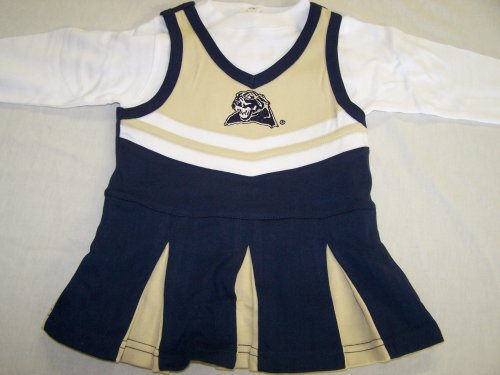 Pittsburgh Pitt Panthers Baby/Toddler Cheerleader Dress - Buy Pittsburgh Pitt Panthers Baby/Toddler Cheerleader Dress - Purchase Pittsburgh Pitt Panthers Baby/Toddler Cheerleader Dress (Mighty Mac, Mighty Mac Apparel, Mighty Mac Toddler Girls Apparel, Apparel, Departments, Kids & Baby, Infants & Toddlers, Girls, Skirts, Dresses & Jumpers, Dresses)