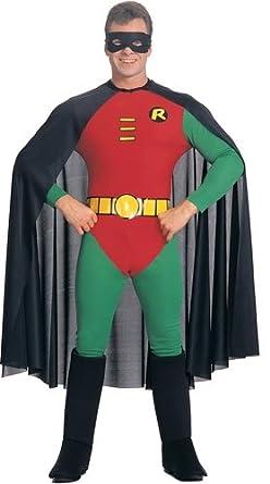 Robin Adult Super Hero Costume, Large