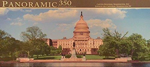 Panoramic 350 Pc. Jigsaw Puzzle Capitol Building ~ Washington, D.C.