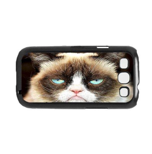 Grumpy Cat Face Hard Snap on Phone Case (Galaxy s3 III)