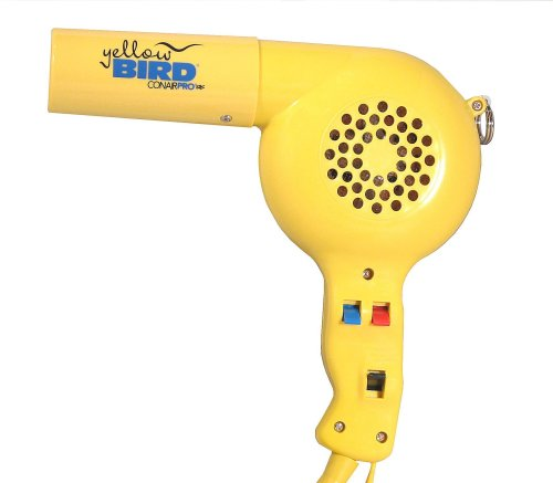 Conair YB075W Pro Yellowbird 1875-Watt Professional Hair Dryer