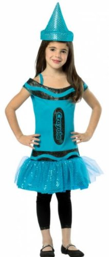 Costumes for all Occasions GC451646 Crayola Steel Blue Child 4-6