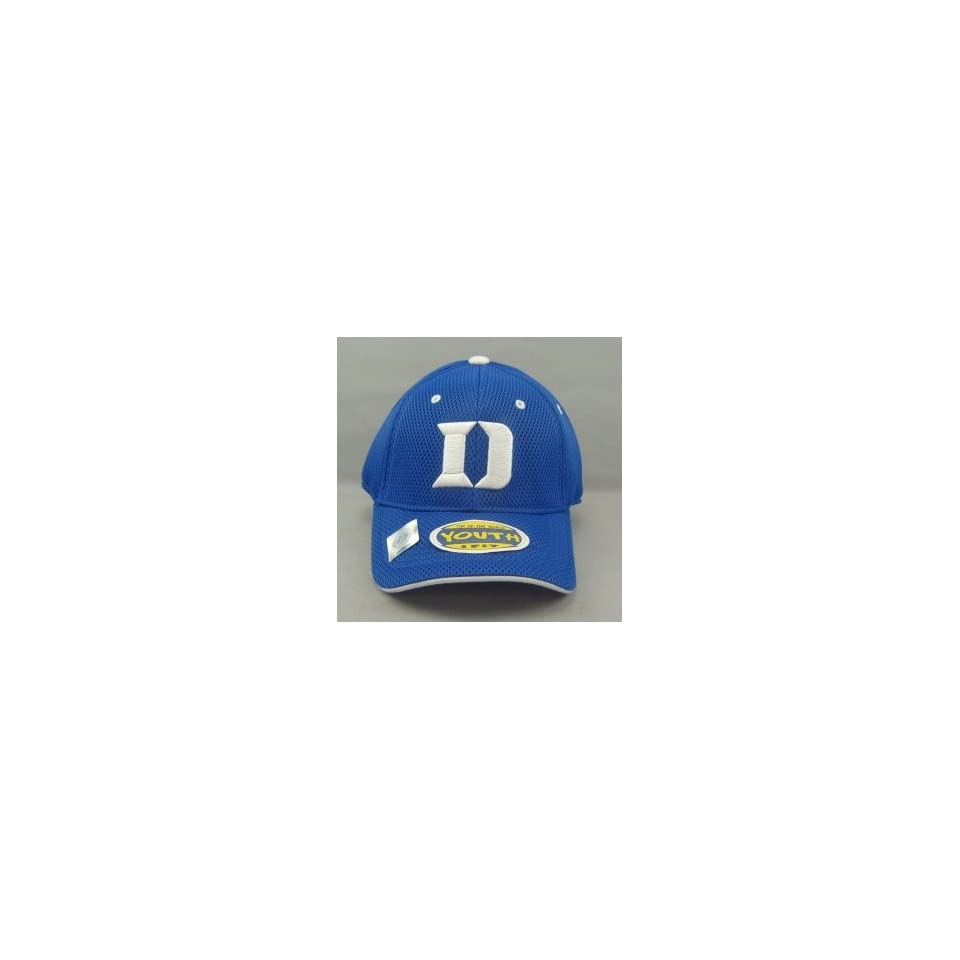 DUKE BLUE DEVILS OFFICIAL NCAA LOGO ONE FIT YOUTH PERFORMANCE HAT CAP