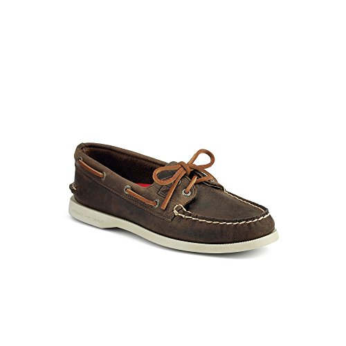 Sperry A/O 2-Eye Core Brown Distressed