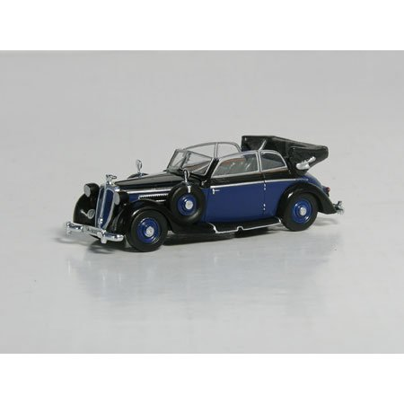 HO '39 Horch 930V Cab Open, Black/Blue - Buy HO '39 Horch 930V Cab Open, Black/Blue - Purchase HO '39 Horch 930V Cab Open, Black/Blue (Ricko International Limited, Toys & Games,Categories,Play Vehicles,Trains & Railway Sets,Accessories)