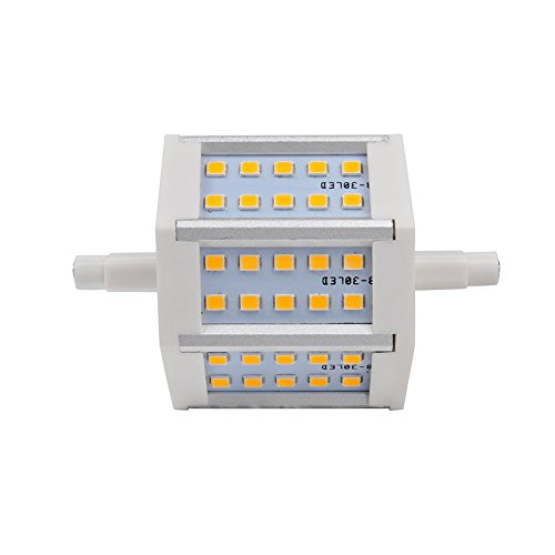 20Pcs R7S Led Bulb Lamp 4W 30 Leds 2835 Smd 360Lm 85-265V Ac Replacement For Halogen Flood Lamp Warm White