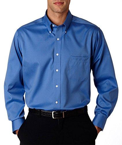Van-Heusen-Mens-Adjustable-Long-Sleeve-Non-Iron-Oxford-Shirt