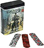 Gears of War 3 - 24 Sterile Bandage Set Band Aids in Collector s Tin