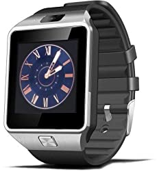 General AUX Smart Phone Watch ( Black )