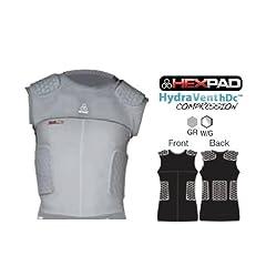 McDavid Youth HexPad 5 Pad Sleeveless body Shirt by McDavid
