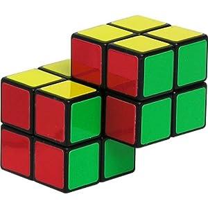 Double 2x2 Cube Brain Teaser Puzzle Like Rubiks Cube: Amazon.co.uk ...