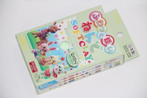 Daiso Japan Mint Green Color Soft Modeling Clay 10 Color Variations Made in Japan - 1