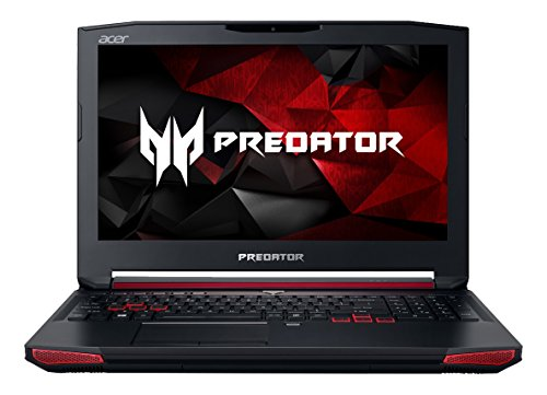Acer Predator 15 G9-591-70VM 15.6-inch Full HD Gaming Notebook (Intel Core i7-6700HQ, 16GB, 1TB, Windows 10 Home) Black