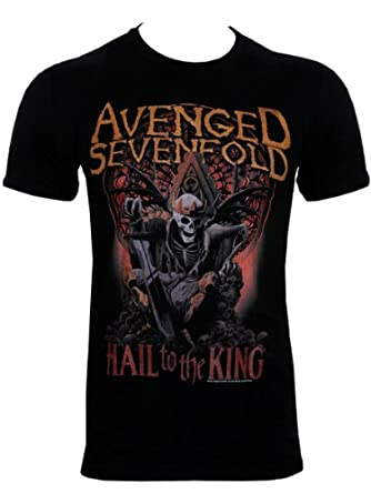 Music T-Shirt featuring A New Day from Avenged Sevenfold Men's Black T-Shirt